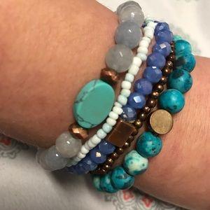 Semi-Precious Bracelet Bundle